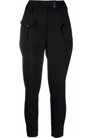 Eleventy Slim-cut tapered trousers