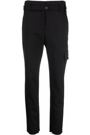 Eleventy High-rise skinny trousers
