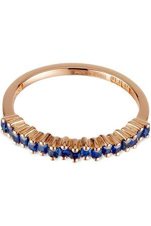 Suzanne Kalan 18kt rose gold sapphire ring
