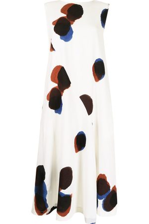 Y's Abstract-print shift dress