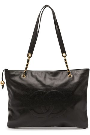 Chanel Pre-Owned 1995 Jumbo CC tote bag
