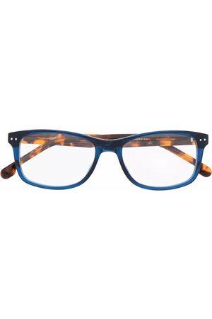 Carrera Tortoiseshell-effect square glasses