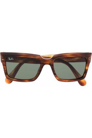 Ray-Ban Tortoise-shell square-frame sunglasses