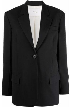 Tela Single-breasted blazer