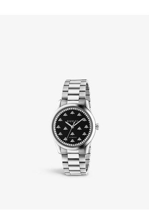Gucci YA1264130 G-Timeless Automatic stainless steel watch