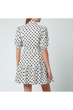 Kate Spade Women Casual Dresses - Women's Block Floral Shirt Dress
