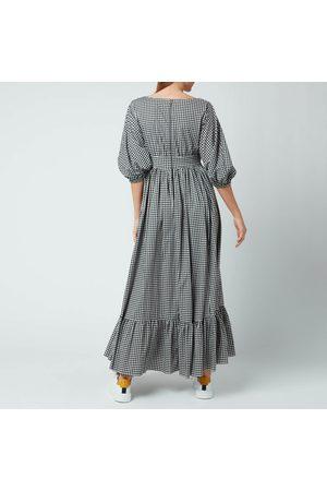 Kate Spade Women's Mini Gingham Bodega Midi Dress