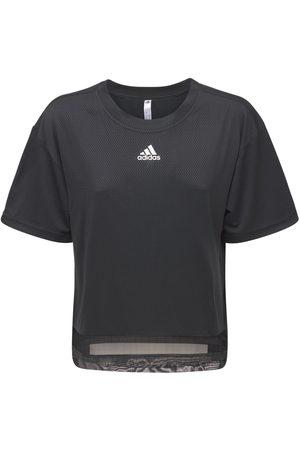 ADIDAS PERFORMANCE Women Sports Tops - Training Heat Ready T-shirt
