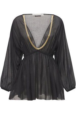 Stella McCartney Falabella Cotton Mini Dress