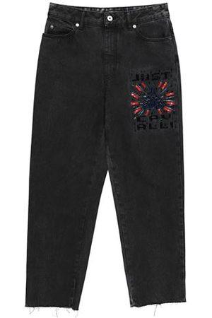Roberto Cavalli BOTTOMWEAR - Denim trousers