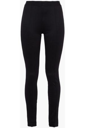 Helmut Lang Woman Ribbed Jersey Leggings Size L