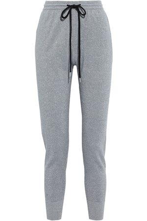 Markus Lupfer Woman Metallic Cotton-blend Track Pants Size L