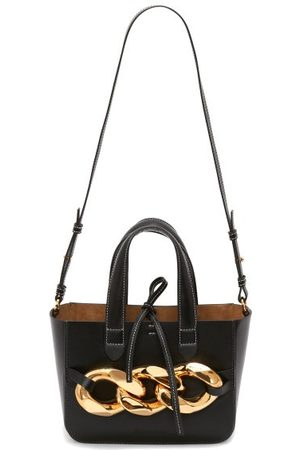 J.W.Anderson Chain-embellished Leather Tote Bag - Womens