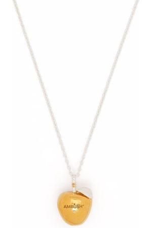 AMBUSH Necklaces - APPLE CHARM NECKLACE GOLD NO COLOR