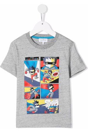 The Marc Jacobs Cartoon-print cotton T-Shirt