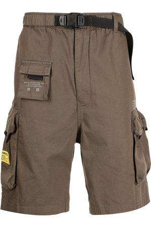 Izzue Men Belts - X Neighborhood belt-waist cargo shorts