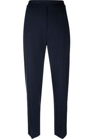 Etro Women Skinny Trousers - Slim-cut high-waisted trousers