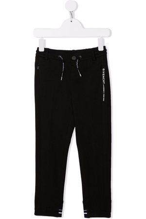 Givenchy Kids Tailored style track pants