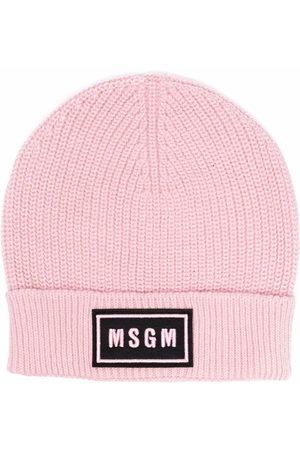 Msgm Logo-patch beanie