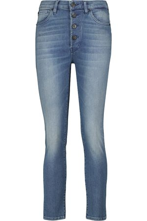 3x1 Poppy mid-rise skinny cropped jeans