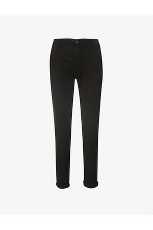 AG Women Stretch - Caden cropped mid-rise stretch-denim jeans