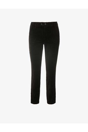 Paige Women Sports Trousers - Mayslie velvet jogging bottoms