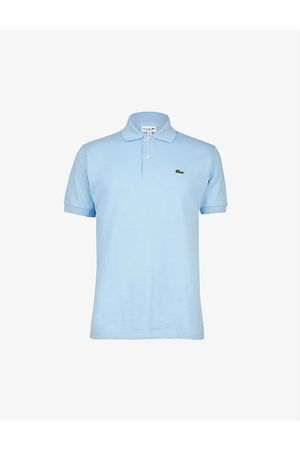 Lacoste Logo-embroidered cotton-piqué polo shirt