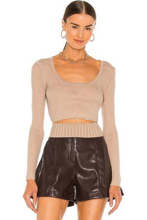 JONATHAN SIMKHAI Kenley Fine Wool Sweater in . Size XS, S, M.