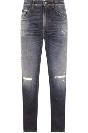 Dolce & Gabbana Men Trousers - Distressed Regular Jeans