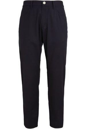 Giorgio Armani Men Formal Trousers - Virgin Wool Trousers