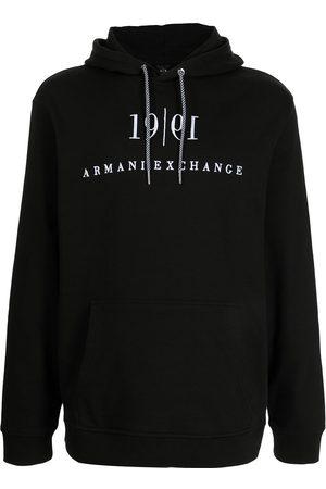 Armani Exchange Logo-print hoodie
