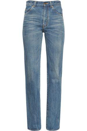 Saint Laurent High Waist '90s Jeans
