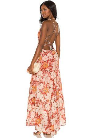 Minkpink Azar Open Back Maxi Dress in . Size S, XS, M.