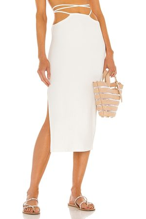 WeWoreWhat Cutout Midi Skirt in . Size XS, S, M.