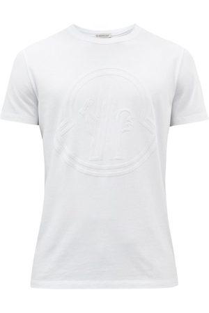 Moncler Logo-appliqué Cotton-jersey T-shirt - Mens