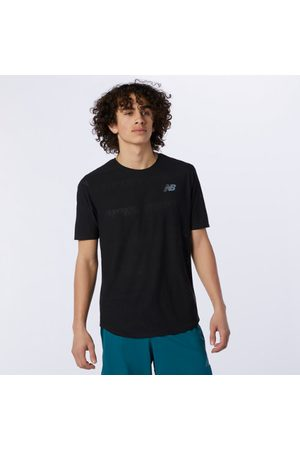 New Balance Men's Q Speed Jacquard Short Sleeve
