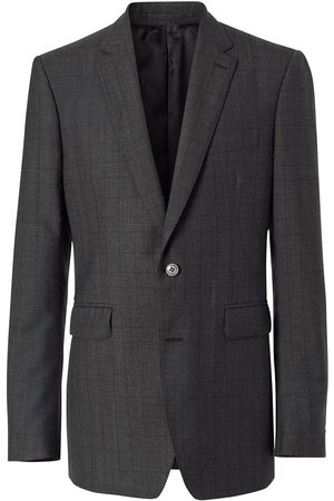Burberry Men Suits - Classic Fit Check Wool Three-piece Suit
