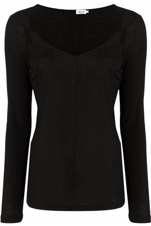Filippa K Women Tops - Fine-knit v-neck top