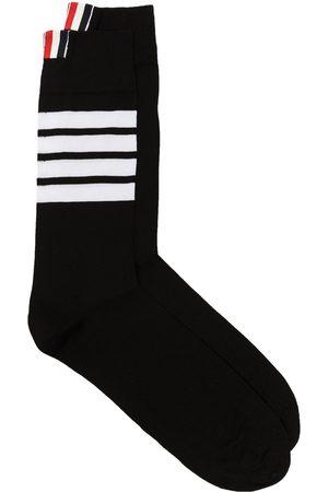 Thom Browne Men Socks - 4-Bar stripe socks