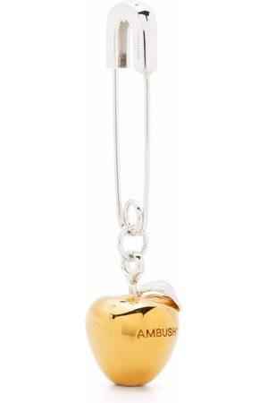 AMBUSH Earrings - APPLE CHARM EARRING GOLD NO COLOR