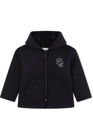 Dolce & Gabbana Boys Duffle Coats - Logo-letter zipped coat
