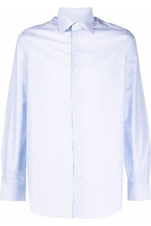 Pal Zileri Striped long-sleeved cotton shirt