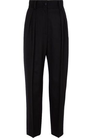 Miu Miu Stretch-wool grain-de-poudre pants