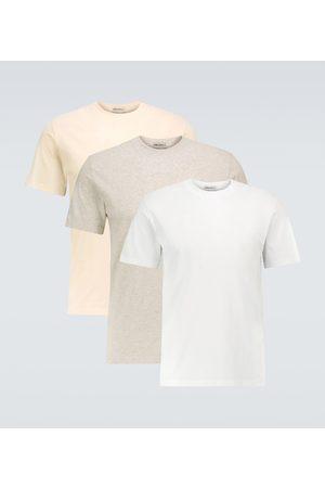 Maison Margiela Cotton crewneck T-shirt three-pack