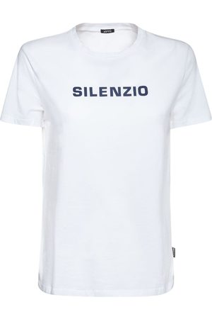 Aspesi Women T-shirts - Printed Cotton Jersey T-shirt
