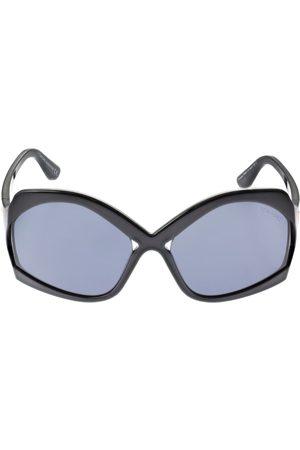 Tom Ford Cheyenne Oversize Sunglasses