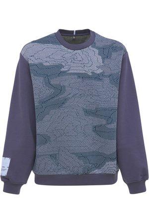 McQ Breath Cotton Blend Sweatshirt