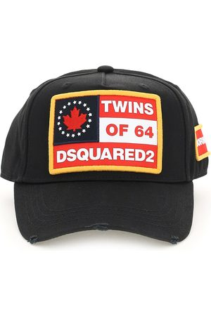 Dsquared2 BASEBALL CAP WITH LOGO OS , , Cotton