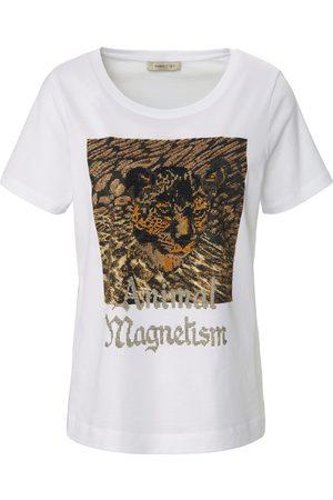 Margittes Round neck top in 100% cotton size: 10