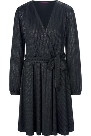 TALBOT RUNHOF X PETER HAHN Wrap look jersey dress size: 10